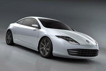 Renault показал первые фотографии нового спортивного купе
