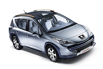 Peugeot показал прототип универсала на базе Peugeot 207