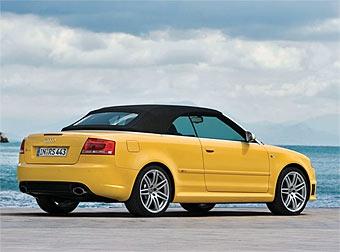 Американцам достанется всего 300 кабриолетов Audi RS4