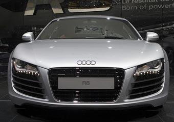 Audi готовит дизельную версию суперкара R8