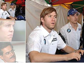 BMW Sauber объявила состав пилотов на 2007 год