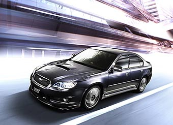 Subaru выпускает ограниченную партию Legacy STi