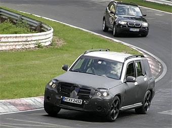Новый кроссовер Mercedes-Benz покажут в конце июня