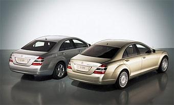 Гибридный Mercedes S-Class появится в 2008 году