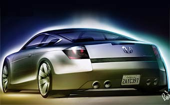 В Детройте покажут прототип купе на базе Honda Accord