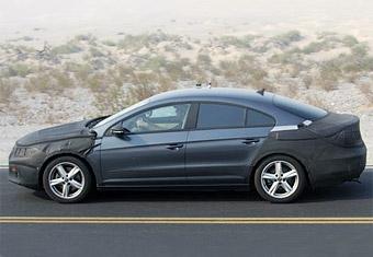 Четырехдверное купе Volkswagen отправили на тесты