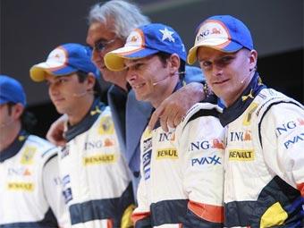 Физикелла не верит в равноправие пилотов Renault