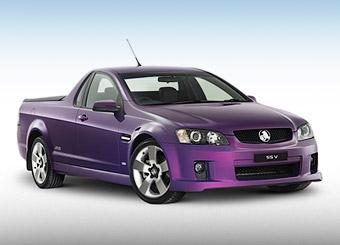 """Holden доделал новый """"грузовой"""" седан"""