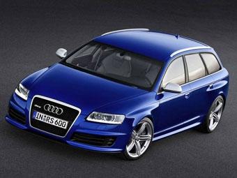 Audi представила самый мощный универсал A6