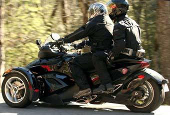 Bombardier готовит трехколесный мотоцикл
