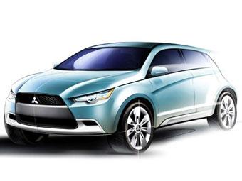 """Mitsubishi покажет во Франкфурте """"экологически чистый"""" кроссовер"""