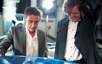 Съемки программы Top Gear возобновлены без Ричарда Хаммонда
