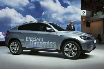 На IAA-2007 BMW показала три новинки