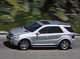 Mercedes выпустит в 2009 году гибридный ML