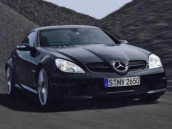 AMG начинает продажи эксклюзивных 400-сильных родстеров Mercedes SLK