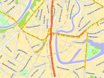 Движение по Варшавскому шоссе восстановлено