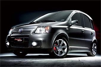 Fiat показал спортивную версию модели Panda