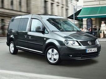 VW привезет во Франкфурт новый семиместный Caddy