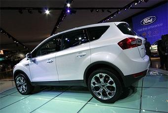 Серийный Ford Kuga появится в начале 2008 года