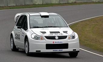 Suzuki поборется за раллийный титул в 2009 году