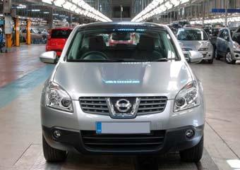 Nissan начал выпускать Qashqai