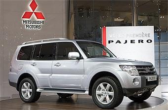 В России начинаются продажи нового Mitsubishi Pajero