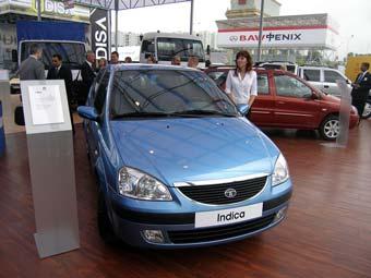 В России впервые представили индийские легковые автомобили Tata