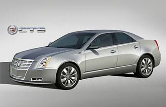 Новое поколение Cadillac CTS представят в Детройте