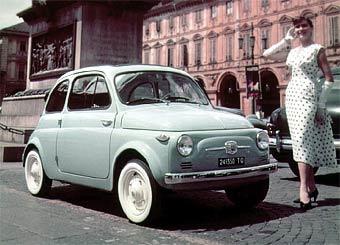 Fiat 500 завоевал титул самого сексуального автомобиля мира