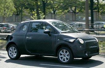 Новый Fiat 500 проходит первые испытания