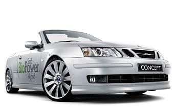 "Saab представил ""био-гибридный"" автомобиль"