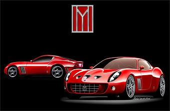 Голландское ателье построит пять эксклюзивных купе на базе Ferrari