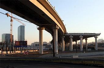 В Москве началась реконструкция Третьего транспортного кольца