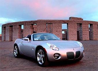 Самым продаваемым родстером в США стал Pontiac Solstice