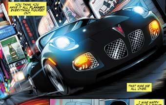 Pontiac Solstice стал героем комикса