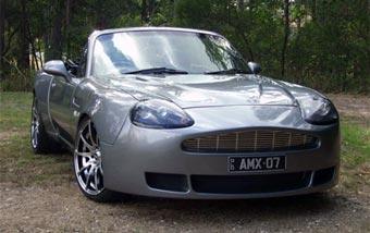 В Австралии научились превращать Mazda MX-5 в Aston Martin