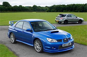 """Subaru выпустит 400 эксклюзивных """"Импрез"""" для Великобритании"""