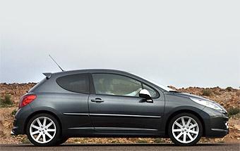 """""""Горячий"""" Peugeot 207 RC представили официально"""