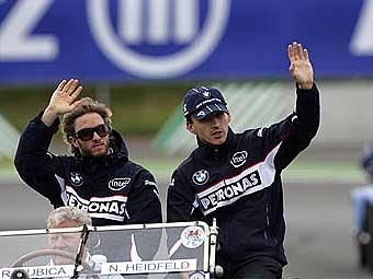 BMW Sauber назвал состав пилотов на сезон-2008