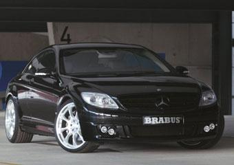 Brabus ограничил скорость нового Mercedes CL 340 километрами в час