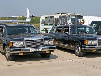 На МАКС-2007 организована выставка раритетных автомобилей