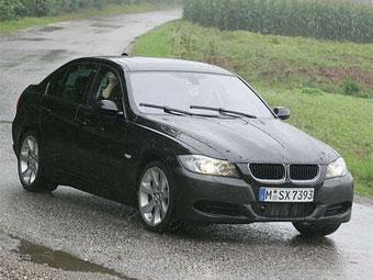 Появились шпионские фотографии обновленной BMW 3-Series