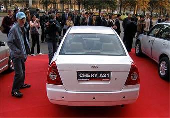 Chery не дают льготы на сборку автомобилей в России