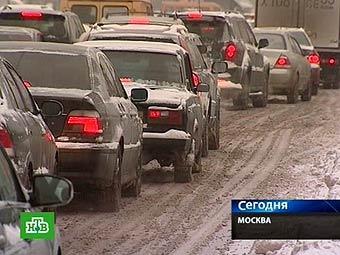 В центре Москвы ограничат движение на новогодние праздники