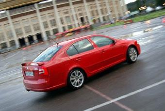 Skoda показала возможности своих автомобилей