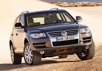Volkswagen представил обновленный Touareg