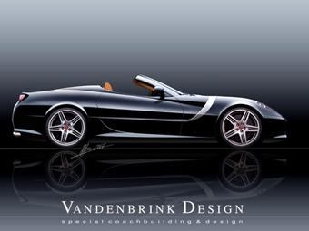 Ателье Vandenbrink готовит новый родстер на базе Ferrari