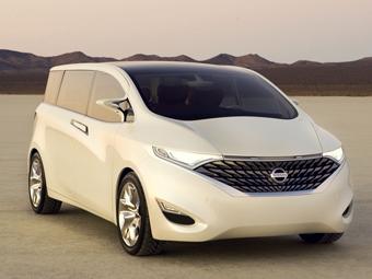 Nissan представил концепт-кар с микроволновкой