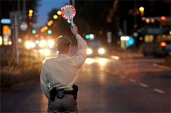 Европейская полиция за неделю поймала 13 тысяч пьяных водителей