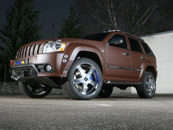 Delta4x4 представила свою версию Jeep Grand Cherokee SRT-8